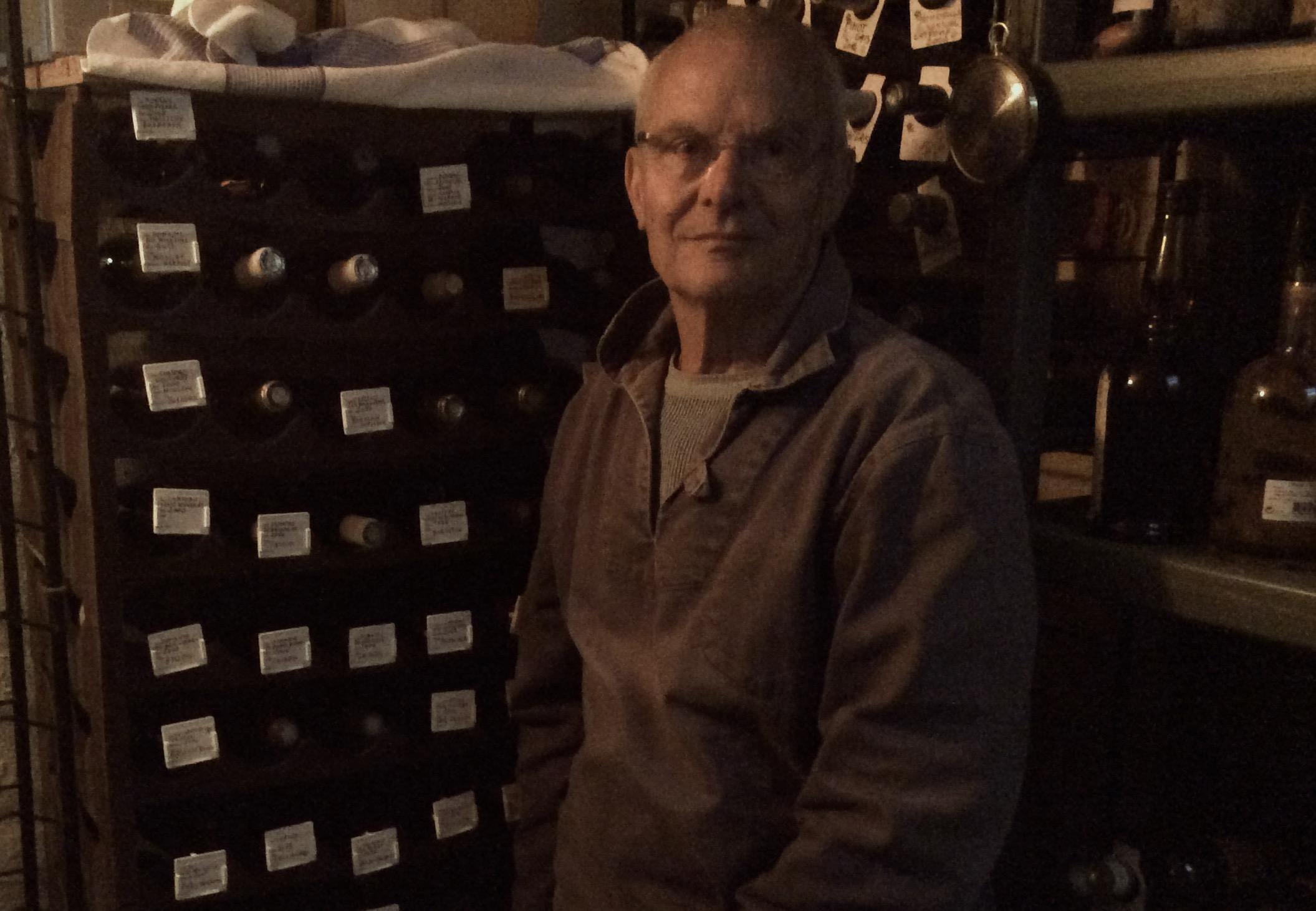 Les CLIPOGOULO gardent religieusement les vins dans « la Chapelle » !